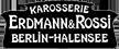 Erdmann & Rossi – a classic in coachbuilding